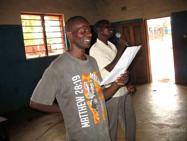 Pastor Masamba speaking