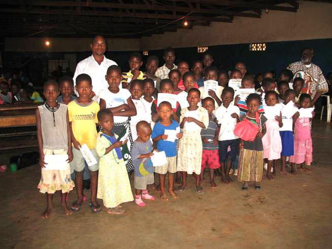 orphans at Maoni