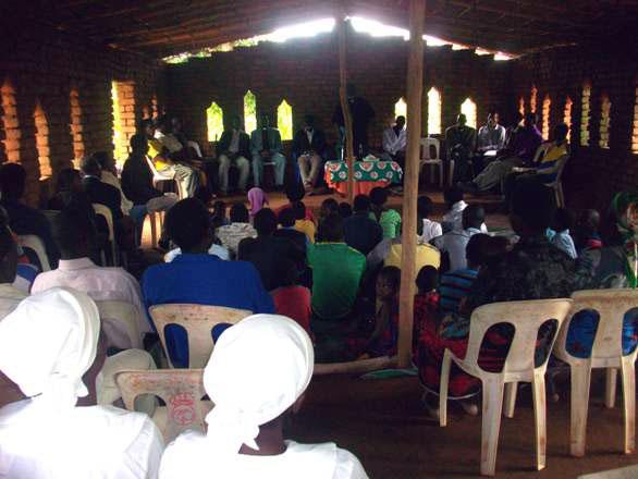 Malosa Church Service