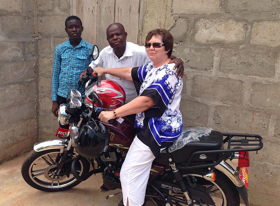 motorcycle Kenya